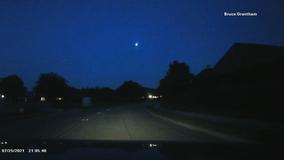 Meteor lights up North Texas sky on Sunday night