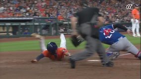 Astros hand Rangers 10th straight loss with 7-3 victory