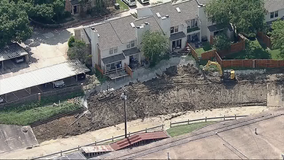 Farmers Branch residents worried as erosion eats away at backyards