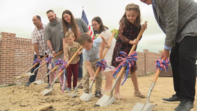 Iraq war veteran surprised with mortgage-free home in Royse City