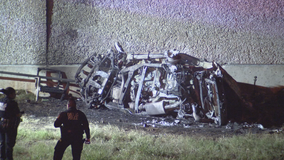 Police: Fiery crash in Dallas that resulted in 3 deaths, 2 injuries investigated as street racing