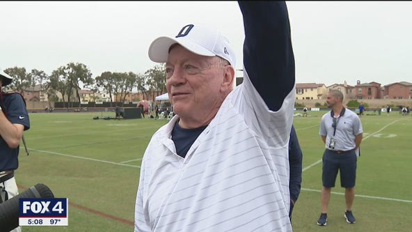 Cowboys hold opening ceremonies for training camp in Oxnard