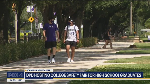 Dallas PD hosts college safety fair