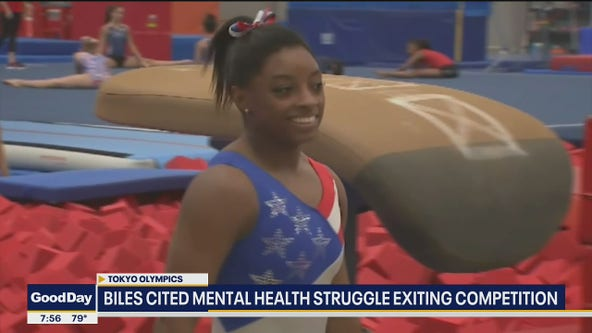 Mental health expert discusses struggles Olympic athletes face