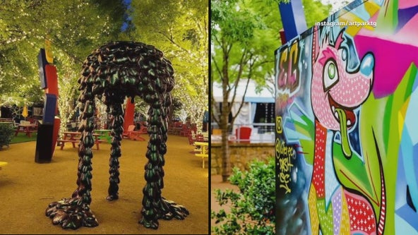 Artpark at Trinity Groves opens as colorful new hangout spot in Dallas