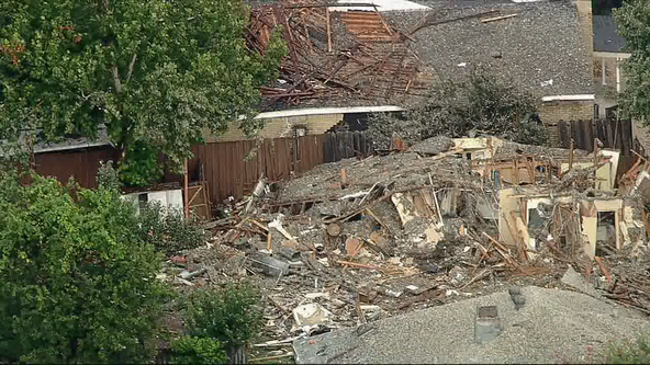 Plano family of 5 injured when neighbor's home exploded now reunited after leaving hospital