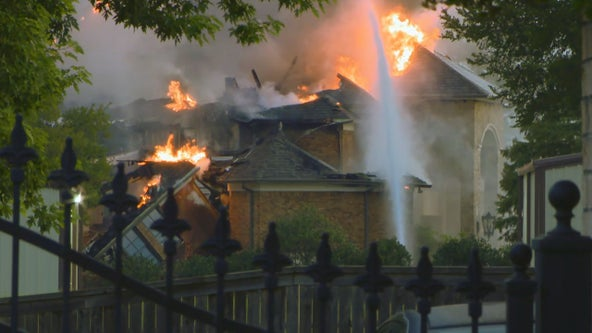 Early morning fire destroys multi-million dollar Southlake mansion