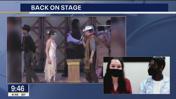 Junior Players return to the stage