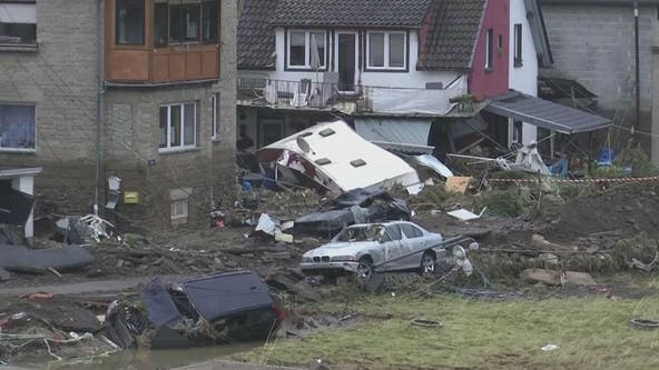 European floods leave more than 100 dead; rescues underway