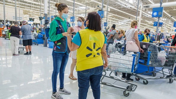 Walmart mandates masks for all workers in areas with high infection rates