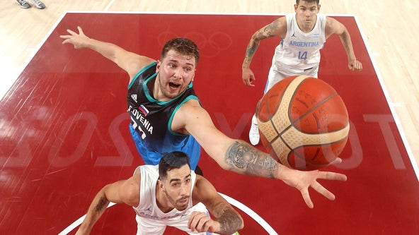 Mavs' Luka Doncic debuts with 48 points, Slovenia wins Olympic opener