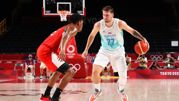 Doncic, Slovenia too much for Japan, wins 116-81 to move to 2-0 in Olympics