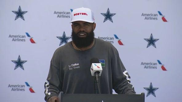 Slim and trim Ezekiel Elliott says he's ready to run