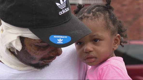 Man saves twin girls from house fire, but family loses everything
