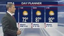 Aug. 3 overnight forecast