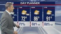 Aug. 2 evening forecast