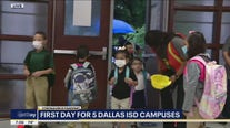 Students head back to school in Dallas and other districts