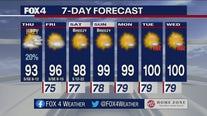 Aug. 5 morning forecast