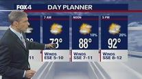 Aug. 4 overnight forecast