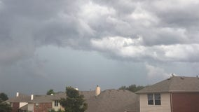 Strong storms move through North Texas Sunday