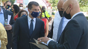 Transportation Secretary Buttigieg visits Dallas to view projects impacted by infrastructure bill