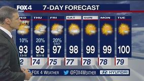 Aug. 3 evening forecast