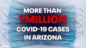 Brutal benchmark: Arizona passes 1 million COVID-19 cases