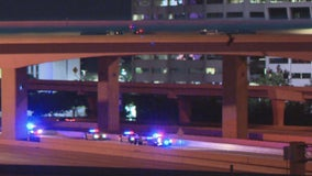 Tow truck driver killed while working on Dallas High 5