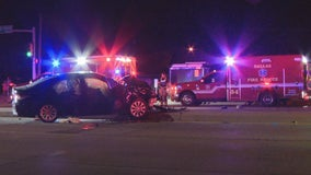Dallas 14-year-old charged with murder after police chase ends in crash; innocent driver killed