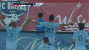 Sallói, Pulido score to help Sporting KC beat FC Dallas 2-0