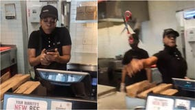 Chipotle employee hurls scissors at customer after he makes complaint