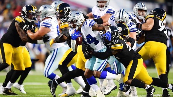 Steelers use strong 2nd half to beat Cowboys 16-3 in Hall of Fame game