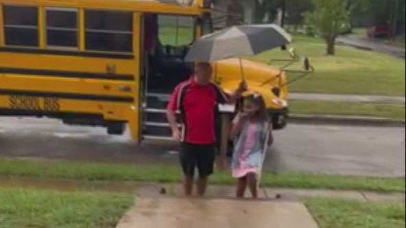 Friendship between visually impaired girl and her bus driver goes viral on Tik Tok