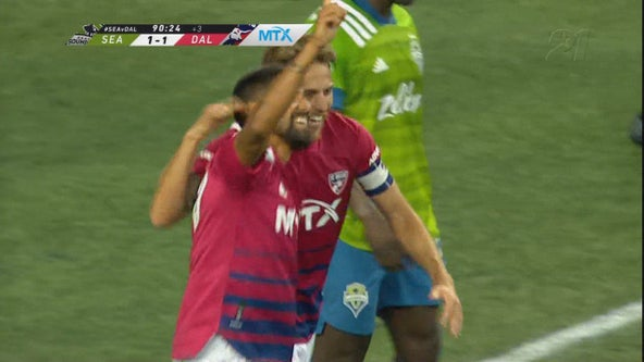 Jara scores late to give FC Dallas 1-1 tie with Sounders
