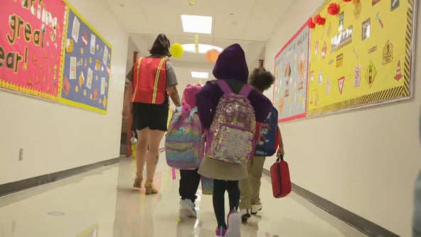 Students head back to school in Garland, Duncanville and on 5 Dallas campuses