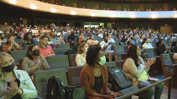 Dallas ISD welcomes 800 new teachers for upcoming school year