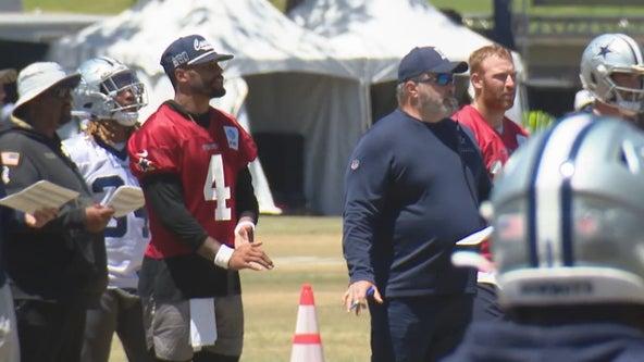 Cowboys quarterback Dak Prescott likely out until next week with hurt shoulder