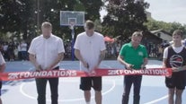 Luka Doncic, 2K Foundation refurbish courts where Doncic grew up playing in Slovenia