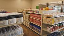 Student-run grocery store inside Sanger ISD high school serves community