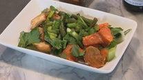 Sheet Pan Chicken and Sweet Potato Supper
