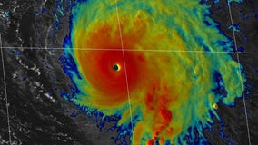 Sam downgraded to Category 3 hurricane in Atlantic