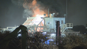 Fire damages Dallas recycling plant