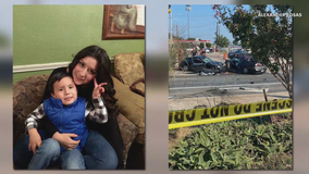 Mom killed, son injured after suspect fleeing Garland police crashes into vehicles