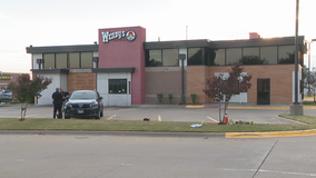 Allen officer fires at woman involved in shootout with man at Wendy's parking lot