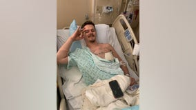 Man hit by stray bullet in Uptown Dallas recovering from collapsed lung, broken ribs