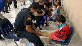 Grand Prairie PD Blue Shoes program connects officers with kids