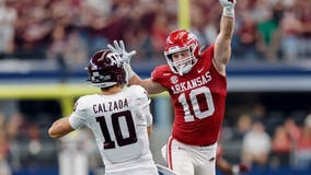 No. 16 Hogs end long skid to No. 7 Texas A&M with 20-10 win