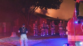 Fire destroys Dallas home that was being renovated