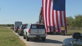 Medal of Honor recipients honored with motorcade through North Texas