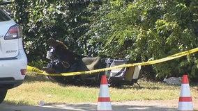 Military training jet crashes in Lake Worth